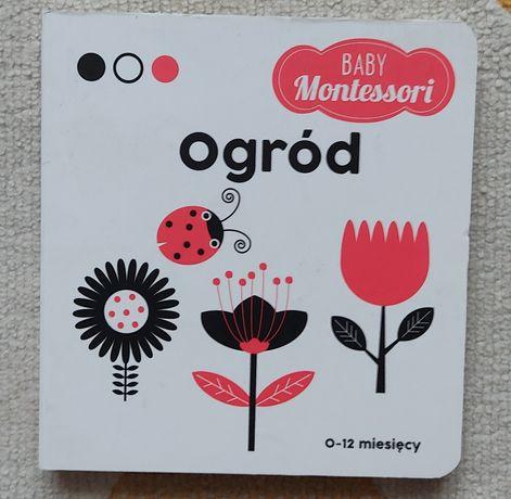 Książeczka kontrastowa baby Montessori ogród