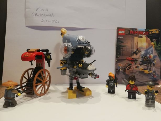 Lego Ninjago Atak Piranii, 70629, Piranha Attack