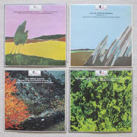 Discos de música clássica de compositores portugueses (6 a 11 euros)