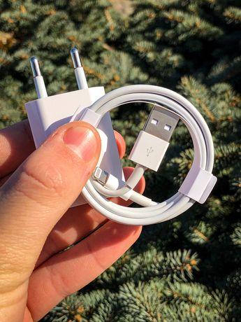 ОРИГІНАЛЬНИЙ Кабель та Блок Apple Зарядка Шнур Iphone ipad адаптер