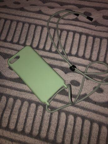 Capa iPhone 8 plus com cordão