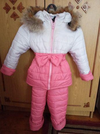 Зимова куртка з штанами
