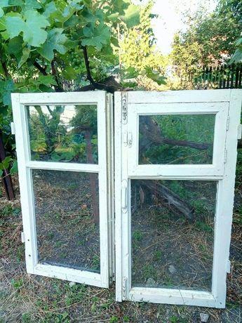 Окна, двери. Без рам.