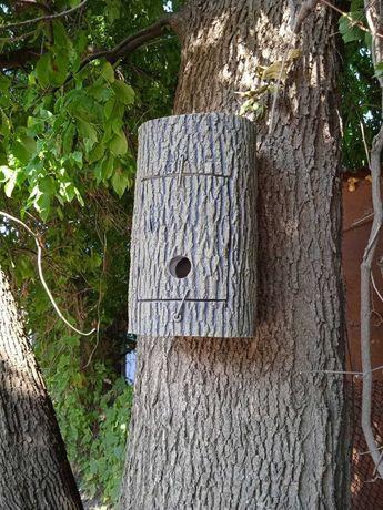 Домики для летучих мышей (bat boxes), скворечник, синичник из бетона