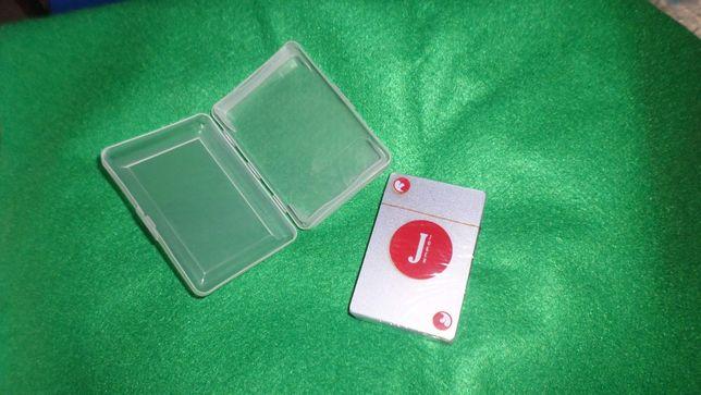 Baralho cartas + pano verde