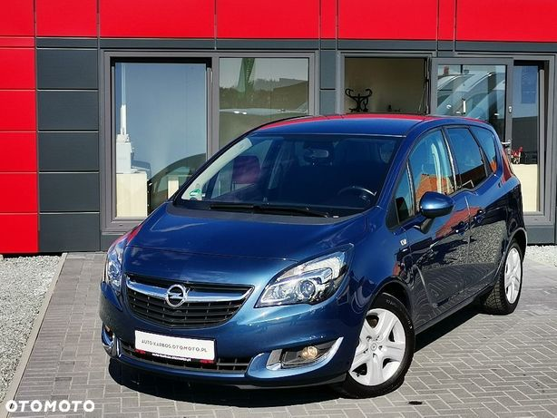 Opel Meriva Grzane Fotele+Kierownica,Klima,Alus,Gwarancja Przebiegu,Po Opłatach