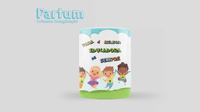 Caneca Para Educadora - Personalizada ou personalizável