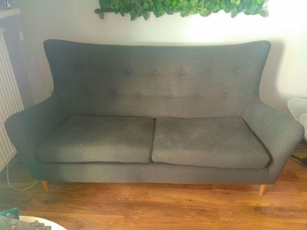Kanapa sofa Agata meble szara rustykalny