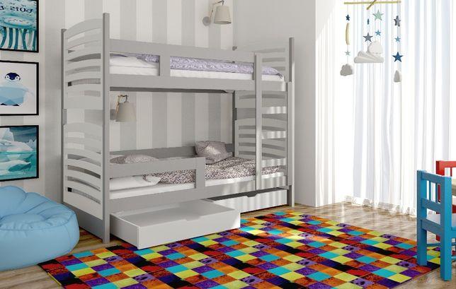 Piętrowe łóżko Olek dwu osobowe! Materace za darmo