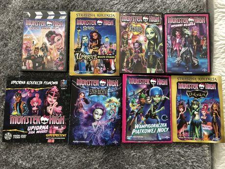 Mega zestaw filmów Monster High+Rio 2 i Paddington gratis!