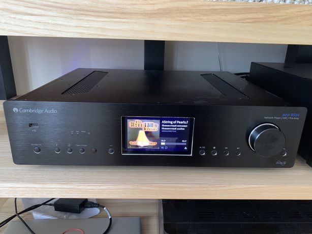 Cambridge Audio Azur 851N Black Мережевий програвач