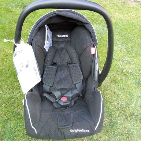 Fotelik samochodowy RECARO wkładka niemowlaka 0-13 idealny