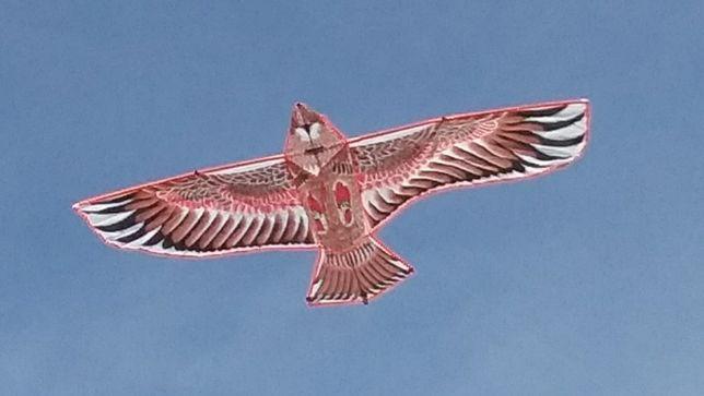 Воздушный змей хищный орел 1,5 метра