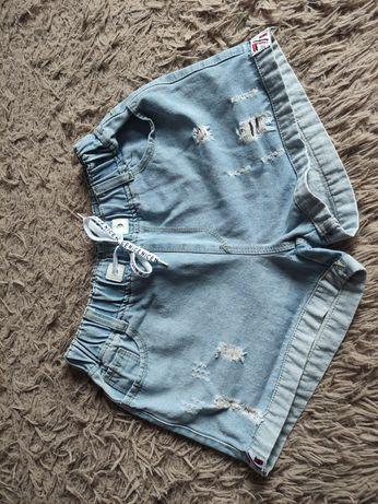 Джинсовые шорты для девочек.