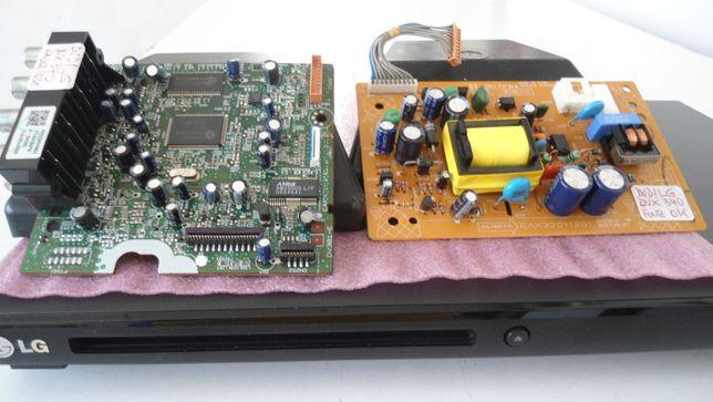 DVD LG DVX340 placas de dados,alimentaçao e display