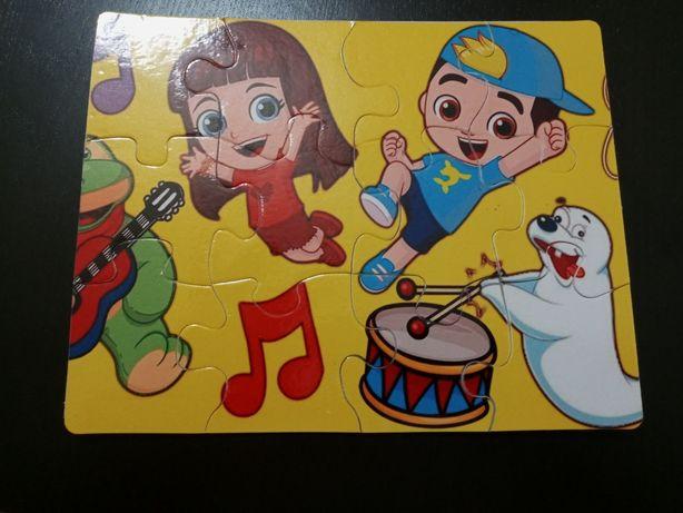 Puzzle criança personalizado (portes gratis)