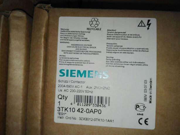 Контактор Siemens 3TK1042-0AP0