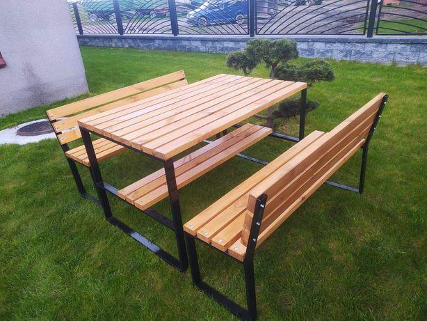 Meble ogrodowe DOSTĘPNE ławka ogrodowa, stół ogrodowy