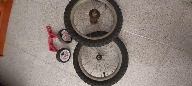 Rodas de bicicleta de criança, 14×2.125