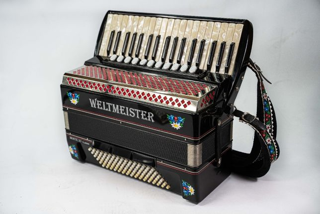 Akordeon Weltmeister Monte 37 Classic 96b Musette BDB