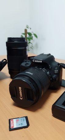 Canon 100D com 2 objectivas