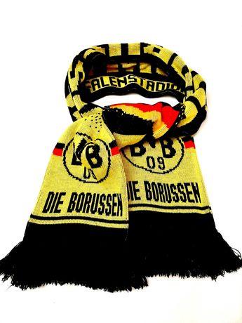 Шарф немецкого футбольного клуба Боруссия Дортмунд чёрно-жёлтый