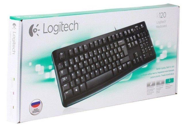 Клавиатура проводная Logitech K120 USB (920-002506)