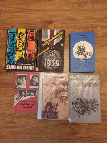 Książki historyczne, Historia całość zestaw książek 8