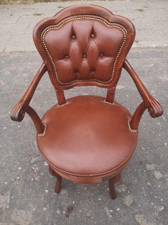 Skórzany fotel Ludwikowski(obracany)
