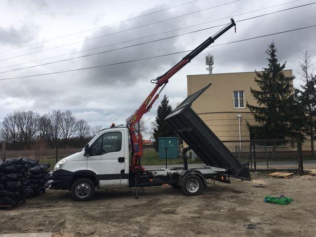 Transport Iveco HDS - udzwig 1,5 T