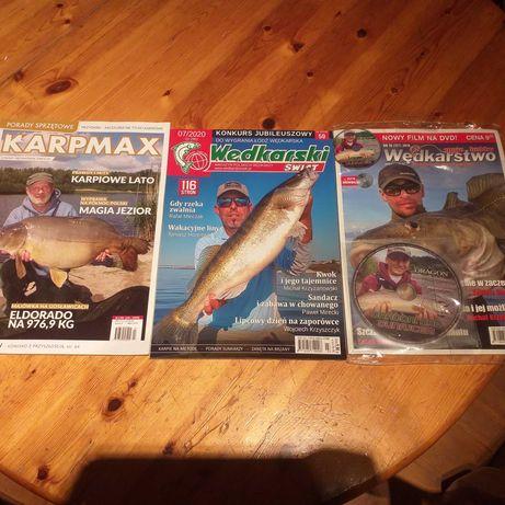 Wędkarskie magazyny nowe.