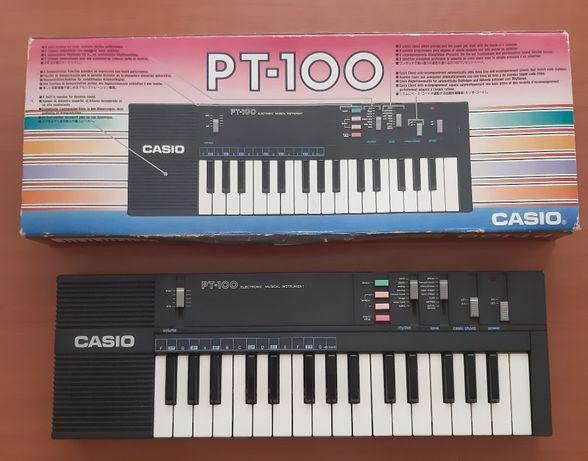 Teclado Casio PT - 100 ( Anos 80 )