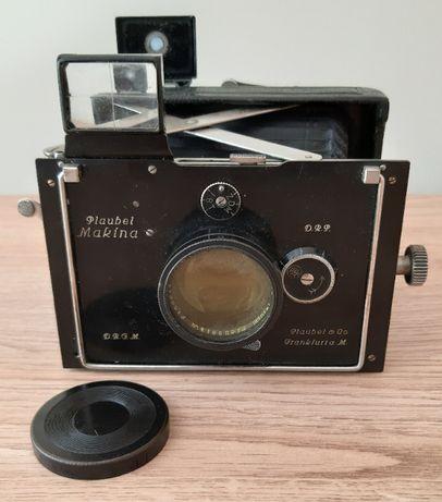 Aparat fotograficzny PLAUBEL MAKINA I 1925r. + statyw i etui