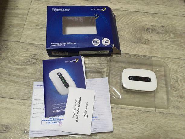 Мобильный 3G Турбо Wi-Fi роутер Huawei EC5321 u-2 карманный интернет