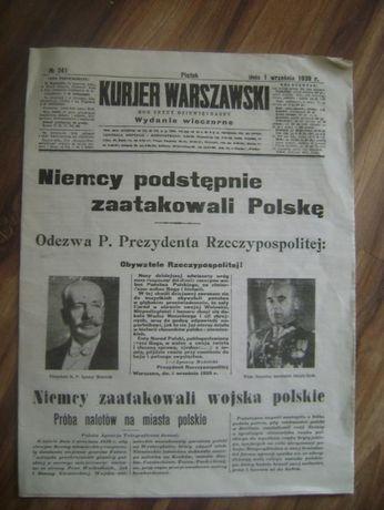 Replika starej gazety