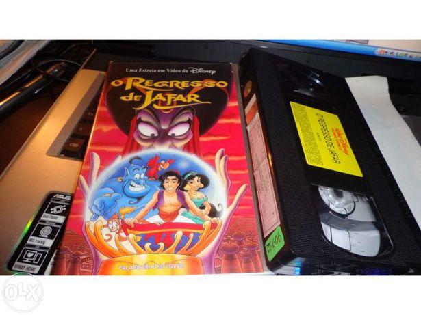 Vhs - Filme - O Regresso de Jafar