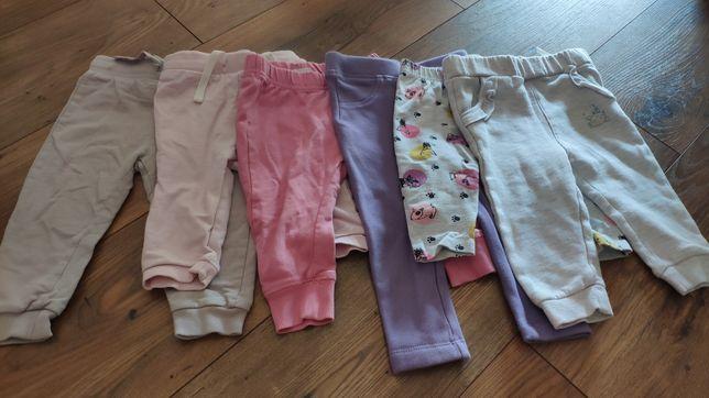 Spodnie dresowe rozmiar 74