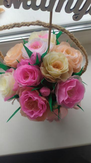 Букет. подарок .цветы из бумаги