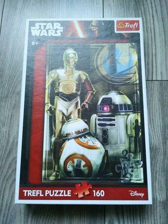 Zestaw puzzle Star Wars + gra gratis