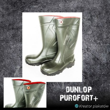 Kalosze ochronne Dunlop Purofort+.Rozmiary.