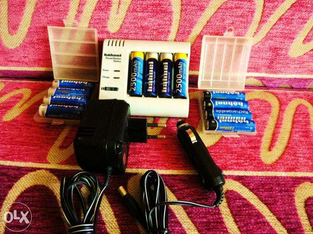HAHNEL Ładowarka do akumulatorków nowa
