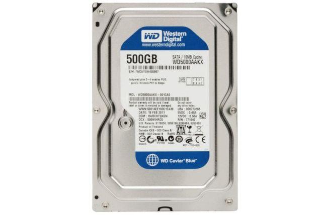 Dysk Twardy WD Blue 500GB 3.5''