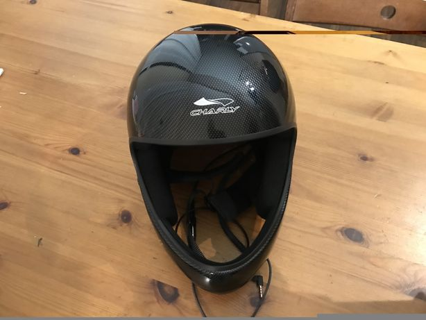 Kask Charly No Limit Carbon Look - paralotnie