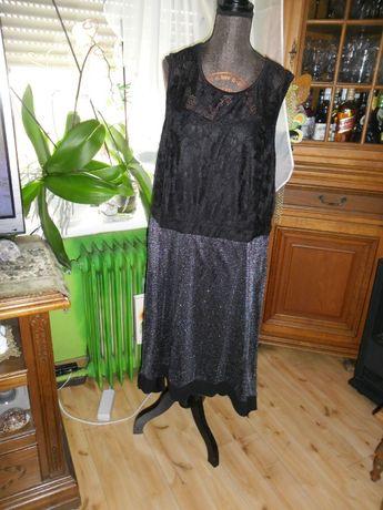 oryginalna,nowa sukienka koronka z szyfonem roz.48/50
