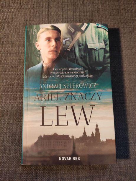 """""""Ariel znaczy lew"""" autor - Andrzej Selerowicz"""