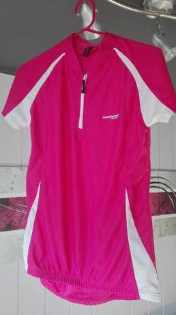 Koszulka Muddyfox M/L rowerowa kolarska sportowa różowa