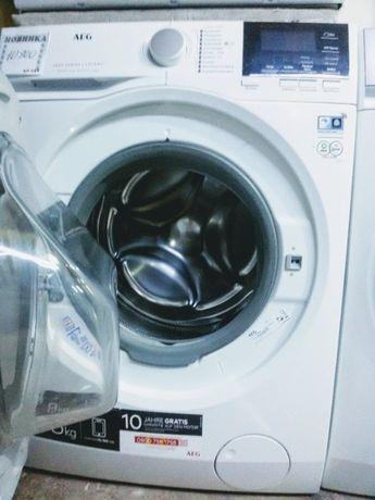AEG 8 кг стиральная машина. Надежный инверторный двигатель