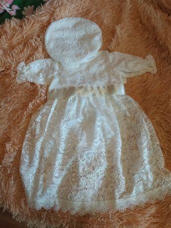 Платье для крещения размер 68