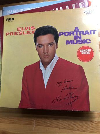Płyta winylowa Elvis Presley A Portrait in Music r. 1973
