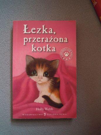 Holly Webb Łezka, przerażona kotka jak NOWA